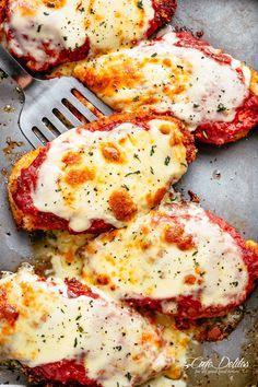 The Best Chicken Parmesan   cafedelites.com