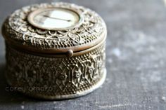French - antique jewelry box