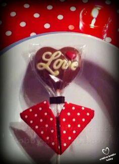 lollipop heart shape paper origami | Valentines diy, Valentine ... | 324x236