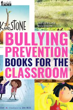 Bullying can be a hard topic to tackle. These 10 read aloud books about bullying (and kindess) will impact your classroom culture in a positive way. Bullying Activities, Bullying Lessons, Teaching Activities, Teaching Ideas, Reading Fluency, Kindergarten Reading, Teaching Reading, Teaching First Grade, First Grade Reading