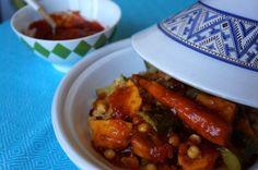 Receta de fin de mes: tajín de verduras con garbanzos | El Comidista EL PAÍS