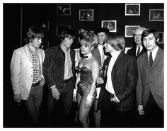 The Rolling Stones at Playboy Mansion