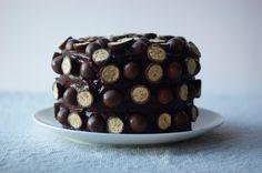 Tarta de chocolate con Maltesers