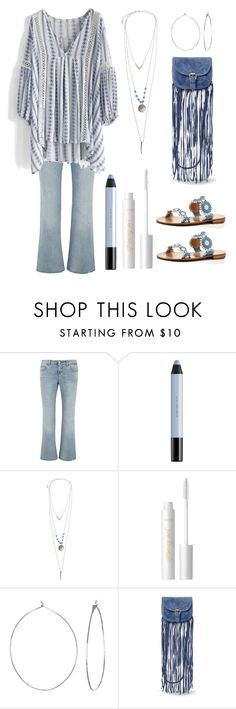 """""""Casual boho babe"""" by im-karla-with-a-k ❤ liked on Polyvore featuring Gucci, shu uemura, Wet Seal, tarte, Phyllis + Rosie, Steve Madden and Jack Rogers"""
