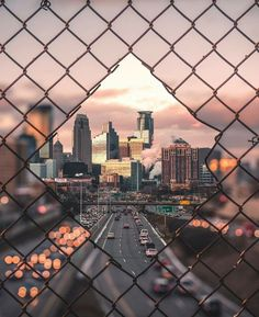 Downtown Minneapolis Minnesota. By Zach Butler. [640 x 784]