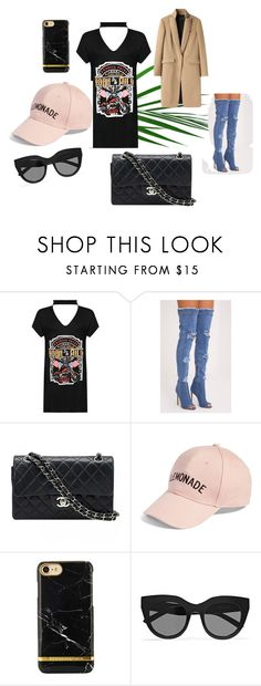 """""""My daddy said shoot"""" by juliesvankjaer on Polyvore featuring WearAll, Chanel, Amici Accessories, Le Specs and rag & bone"""