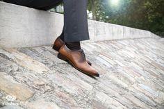 Richelieu Preston Cognac pour Homme - Finsbury Shoes