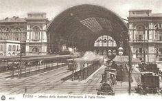 Interno Stazione ferroviaria di Porta Nuova - Torino http://www.torinovintage.it/torino-antica/interno-stazione-ferroviaria-porta-nuova-torino