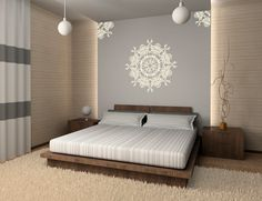 Mandala Wall Decal, Gali Art