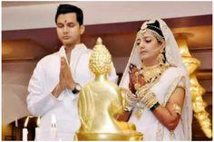 बौद्ध पद्धति से विवाह … न फेरे न हवन न सिंदूर न देववाणी में मंत्र