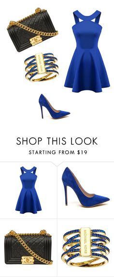 """""""трр"""" by veronika-altanez on Polyvore featuring Chicnova Fashion and Michael Kors"""
