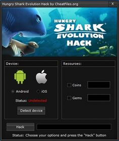 Finding a working hungry shark evolution hack is like finding the needle in a haystack. I guess you were able to discover a few hungry shark evolution cheats nevertheless let me guess?they happen to be NOT WORKING. This is the solely hungry shark evolution cheat you will probably get which is working and most importantly: is Absolutely free.