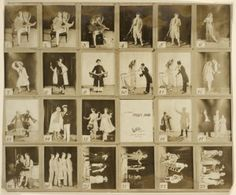 Scenes from the Rodgers and Hart stage Musical Peggy-Ann, from the NYPL