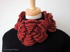 Enganchado en crochet: Calentador de cuello / pescocinho Esquenta