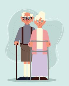 Cute Old Couples, Grandparents Day, Cinderella, Disney Characters, Fictional Characters, Aurora Sleeping Beauty, Family Guy, Stock Photos, Education