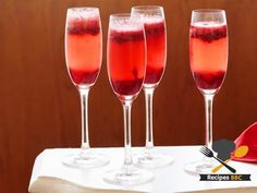 Crenberry Kir Royale