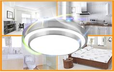 15W Minimalism Double-layer Aluminum LED Ceiling Light For Indoor
