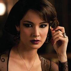 """Have you seen the film """"Skyfall"""" yet? The latest installment in the James Bond series on screen opened in US theatres November Bond Girls, New Bond Girl, Face Charts, James Bond Skyfall, Most Popular Movies, Dark Lips, Girls Makeup, Makeup Inspiration, Makeup Ideas"""