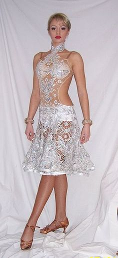 love this latin dress! Too much or not enough? What do you think? #danceRAL