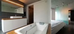 Wood tub x Wood counter