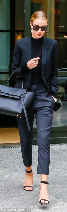 Rosie Huntington-Whiteley keeps low profile during New York trip | Daily Mail Online