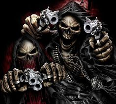Grim Reaper and his Brother