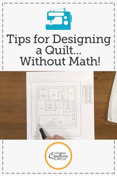 Learn how easy it is to design a quilt that incorporates offset piecing, panels and borders using nothing but graph paper and a pencil. Quilting Board, Quilting Tips, Quilting Tutorials, Hand Quilting, Quilting Projects, Sewing Projects, Strip Quilts, Panel Quilts, Barn Quilt Designs