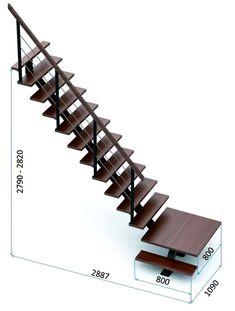 Escalier bolsano vial menuiserie cuisine jardin Dimension escalier droit 1 2 4 6 9 9 Tile Stairs, Metal Stairs, Loft Stairs, Modern Stairs, House Stairs, Interior Stair Railing, Staircase Design, Wooden Staircases, Stairways