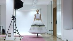 Dior Haute Couture Spring/Summer 2015 : Making Of A Dress Beautiful, visual meditation.