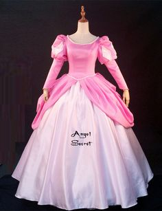 Movies Cosplay Costume movie pink Ariel princess dress with pearls in Clothing, Shoes ` Accessories, Women's Clothing, Dresses Ariel Dress Costume, Ariel Pink Dress, Ariel Cosplay, Disney Cosplay, Cosplay Costumes, Cosplay Ideas, Disney Princess Costumes, Disney Princess Dresses, Disney Dresses