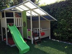 Love this design for an indoor outdoor cubby