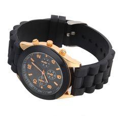 fashion Geneva Silicone quartz watch women Jelly Sport wristwatch,Woman dress brand watches,11colors casual women watch NO1
