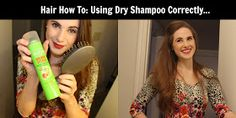 Ellee: Hair How To: Using Dry Shampoo Correctly...