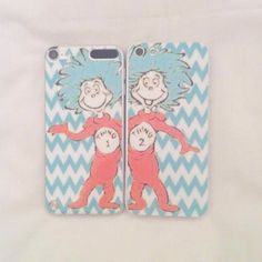 thing 1 and thing 2 phone case