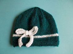 Dreamy Day Baby Knit Hat - Beginner Pattern
