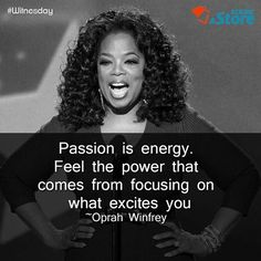 A powerful ‪#‎Witnesday‬ quote from Oprah Winfrey. ‪#‎QOTD‬ ‪#‎wednsdaywisdom‬