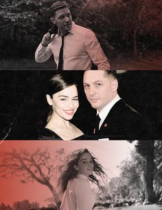 Emilia Clarke and Tom Hardy. Love it <3