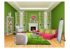 Spring into Green by cswalsh1961 | Olioboard - Spring Colors Design Challenge entry