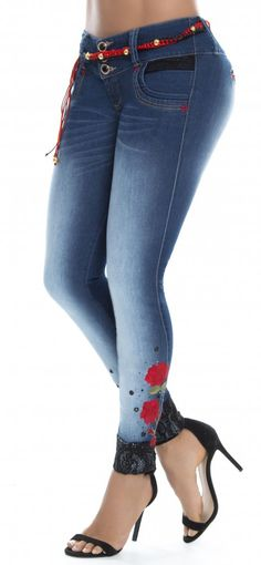 Jeans levanta cola WOW 86279
