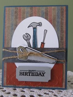 Stampin' Up/PaperTrey Handmade Greeting Card by ConroysCorner