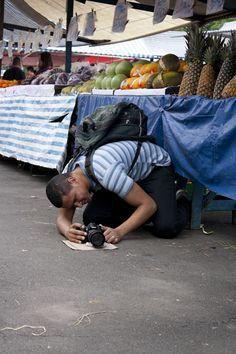 Saída fotográfica do 1º Workshop de Fotografia de Rua. Feira do metrô Carrão.