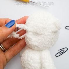 плюшевый мишка Сердцепуз МК описание