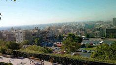 دمشق حديقة النيربين اخر خط المهاجرين