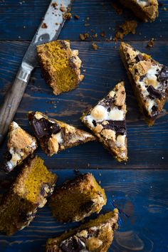 pumpkin s'mores bars - Jelly Toast