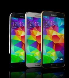 The Samsung Galaxy S5.  Samsung ad makes fun of unreleased Apple product.