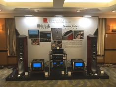 A picture from the Shangai International show: our carbon rack AEON with McIntosh Laboratory Inc. and Sonus faber. Thanks to our partner Richcom Audio Video Group 昇和影音集團. #bassocontinuo #richcom #mcintosh #sonusfaber #shangai #audioshow #carbonrack #madeinitaly #audiorack #hifi #ilcremonese #china #aeon #revolutionline #audiophile #altafedeltà #hifiporn #thebestornothing