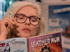 Debbie Harry reads.