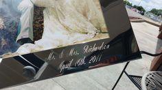 Engraved Wedding Frame