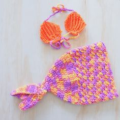 Baby Mermaid Crochet