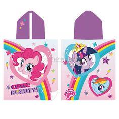 Toalla Capucha Rainbow My Little Pony - Bazartextil.com